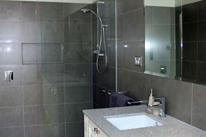 Bathroom splashbacks